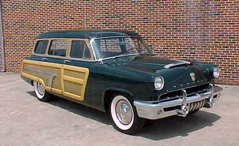 1952 Mercury Woody Station Wagon
